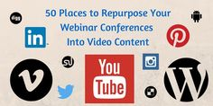 VIDEO: Content marketing advice and strategy + SLIDESHARE 50 Places to promote all your content.