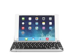 The ultimate keyboard for the iPad iPad Gen the iPad Pro & iPad Air. A Bluetooth wireless keyboard, with matching aluminum body, degree viewing ability, and easy lap-ability. It's the perfect balance between tablet and laptop functionality. Mini Keyboard, Bluetooth Keyboard, Ipad Pro 12 9, Apple Mac, Apple Products, Ipad Mini, Ipad Case, Desktop, Technology