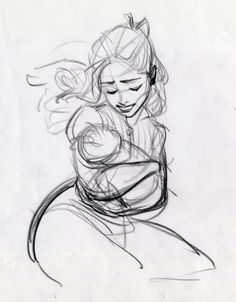 Tarzan's Mother, Art by Glen Keane