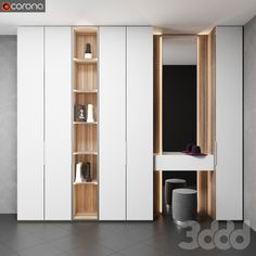 Hall Wardrobe, Wardrobe Door Designs, Wardrobe Design Bedroom, Bedroom Closet Design, Bedroom Furniture Design, Girl Bedroom Designs, Modern Bedroom Design, Home Room Design, Home Interior Design