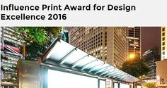 Influence Print Award for Design Excellence 2016