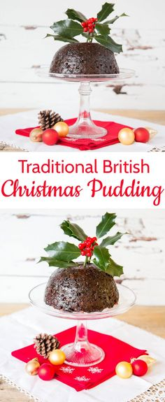 Making a traditional British Christmas pudding is really easy. I make one every year on Christmas Eve. It would not be Christmas with the Plum Pudding and Brandy Sauce. Christmas Cooking, Christmas Desserts, Christmas Treats, Christmas Dishes, Christmas Parties, Christmas Stuff, Hp Sauce, English Christmas Pudding, British Christmas Traditions