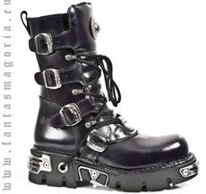 Abigor's New Rock boots #industrial #cybergoth #rivethead