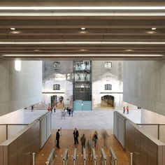 great combo new + old - New UAL Campus for Central Saint Martins at King's Cross by Stanton Willams