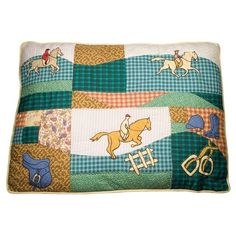 Petmate® Equestrian Dog Bed  Because every dog dreams of riding a horse.