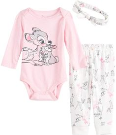 Jb Disney Insertion Disney's Bambi Baby Girl Graphic Bodysuit, Pants & Hat Set by Jumping Beans # disney baby clothes Disney's Bambi Baby Girl Graphic Bodysuit, Pants & Hat Set by Jumping Beans® Disney Baby Onesies, Disney Baby Clothes Girl, Disney Baby Costumes, Disney Baby Names, Baby Costumes For Boys, Disney Princess Babies, Cute Baby Clothes, Disney Babies, Disney Disney