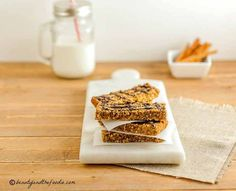 Easy Low Carb Granola Bars, grain free, low carb and paleo  (5.5 Net Carbs)