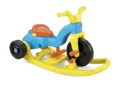 Ride-Trike-Rock-Roll-Fisher-Price-Tricycle-Bike-Rock-Roll-039-n-Ride-Trike-Toddler