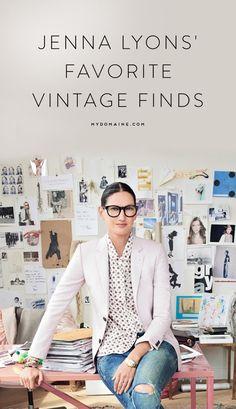 Shop Jenna Lyons' favorite vintage finds // @1stdibs