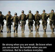 The Navy SEALs consist of an elite fighting force created by President John F. The physical fitness standards for the Navy SEALs are high. Military Mom, Army Mom, Military Quotes, Military Veterans, Marine Mom, Marine Corps, Naval Special Warfare, Thing 1, United States Navy