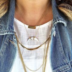 Necklace layering game strong www.stelladot.com/stylingsarah