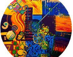 Behance Portfolio, Mixed Media Painting, Pastel, Fine Art, Yard, Board, Cake, Crayon Art, Visual Arts