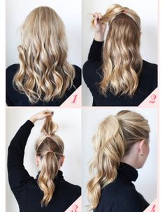 9 Best Office Hairstyles for Long Hair - Hair Styles Office Hairstyles, Lazy Hairstyles, Pretty Hairstyles, Simple Hairstyles, Easy Hairstyles For Everyday, Casual Hairstyles For Long Hair, Hairstyles Pictures, Spring Hairstyles, Style Long Hair