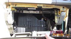 Cabin air filter replacement - Hyundai Santa Fe