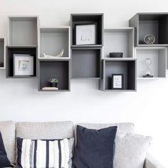 Fan Gallery and Inspiration Living Room Planner, Ikea Fans, Ikea Eket, Basement Office, Wall Storage, Scandinavian Modern, Floor Space, Decoration, Floating Shelves