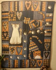 Cat Patches: Book Review: It's Quilting Cats and Dogs