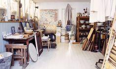 Stuart Paterson's London workshop