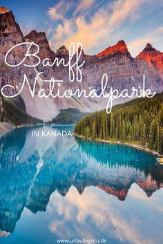 Westlich von Calgary, Kanada liegt der Banff Nationalpark. Traumhafte Panoramen, eine vielfältige Flora und Fauna und unzählige Outdoor-Aktivitäten erwarten euch!