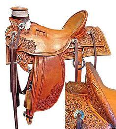 Half Seat Wade Saddles | wood wade this was a really nice ray hunt wade full