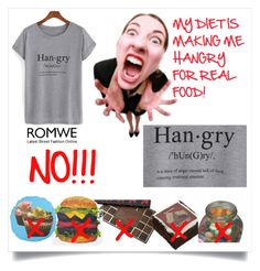 """""""Hangry for Real Food with Cool T-Shirt"""" by sandyspider ❤ liked on Polyvore featuring Mode und Jelly Belly"""