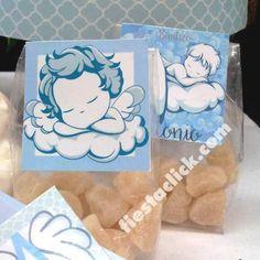 angel bebe vintage sticker para los dulces