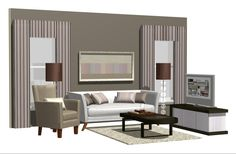 Perhaps for those of you who have a magnificent house, a large and spacious is not a problem to start decorating.