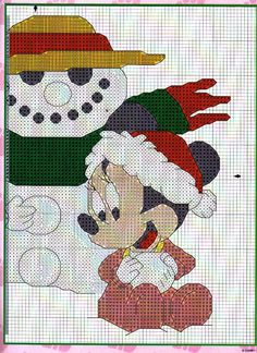 Boa noite meninas e meninos!   Tudo bem com vocês? Espero que sim. Eu estou bem graças a Deus.   Hoje trouxe estes lindos gráficos do Natal...