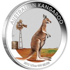 Precious Metal Coins: Australian Outback 2012 Coloured Kangaroo, Koala and Kookaburra Ounce Silver Coin Collection - Perth Mint The Bear Family, Coin Design, Gold And Silver Coins, Commemorative Coins, Australian Animals, World Coins, Lessons For Kids, Coin Collecting, Perth
