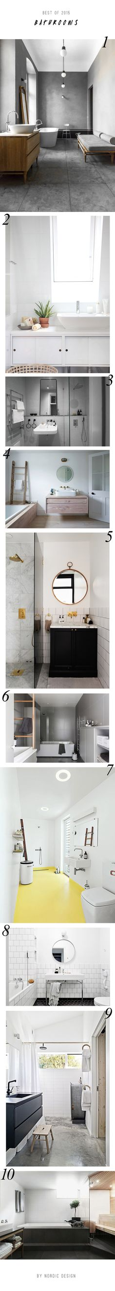 10 beautiful Scandinavian bathrooms