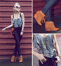 fringe boots :)