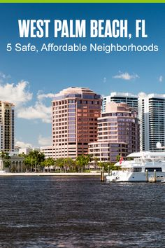 Want to live in West Palm Beach? This South Florida city offers beautiful views of the Atlantic Ocean, access to the beach, friendly communities, and more. If you're moving to West Palm Beach, here are five safe, affordable neighborhoods to consider! Palm Beach Atlantic, Downtown West Palm Beach, Florida City, South Florida, Grandview Heights, Good Morning Love Messages, Lake Worth, Florida Living, Fort Lauderdale