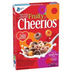 Cheerios Fruity Cereal 12 oz : Target