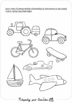 Kulkuneuvoja Transportation Theme Preschool, Teach English To Kids, Kindergarten Coloring Pages, Character Template, Autism Education, Disney Coloring Pages, Busy Book, Kids Prints, English Lessons