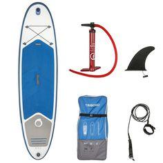 BPG Bateau Bateau, Kayak, Paddle (SUP) - SUP GONFLABLE 10'7 bleu TRIBORD - Bateau, Kayak, Paddle (SUP)