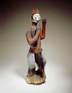 Object type: ritual sculpture Place of collecting: 	Democratic Republic of the Congo > Bandundu > Kwango   Culture: Nkanu Date of acquisition: 1903-05-12