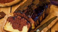 Chec cu glazură de ciocolată Halloumi Burger, Kurtos Kalacs, Romanian Food, Romanian Recipes, Meatloaf, Banana Bread, Nutella, Sweets, Snacks