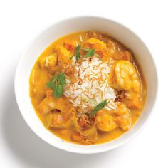Pumpkin Shrimp Curry Recipe (1 large can for a double batch)