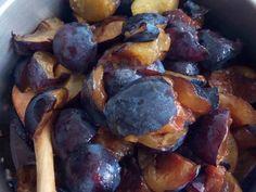 Szilva csatni (chutney) Rozitól | Rozália Péter_1 receptje - Cookpad receptek Automata, Chutney, Plum, India, Fruit, Food, Goa India, The Fruit, Chutneys