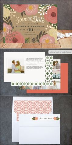 Yes please! We love Minted save-the-dates. http://www.minted.com/product/foil-pressed-save-the-date-cards/MIN-XN9-SFS/floral-canopy?org=photo