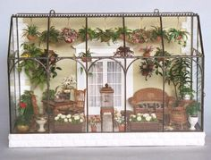 Wall-Hanging Conservatory by Lady Jane