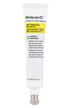 The best eye cream! StriVectin-TL™ 360° Tightening Eye Serum available at #Nordstrom