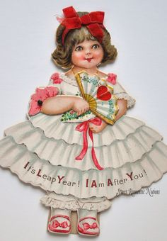 Sweet Romantic Notions: Valentine Ladies