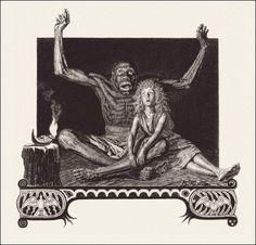 """Thais"" by Anatole France Illustrations by Raphaël Freida, 1924"