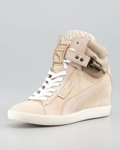 PUMA wedge sneakers