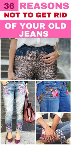 0e628b771c 36 Creative And Easy Ways To Restyle Your Old Jeans