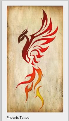My forearm tattoo : when the phoenix dies, it burns up and then a new one is…