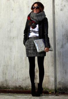 18 Street Style Outfit Ideas with Ankle Boots - fashionsy.com