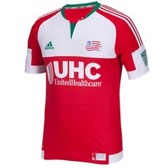 07e26720e9c New England Revolution adidas 2015 Secondary Authentic Jersey - Red -   99.99 Soccer Kits