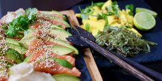 Oppskrifter Archives – Page 14 of 34 – Berit Nordstrand Sashimi, Tempura, Mochi, Tapas, Sushi Rolls, Fish And Seafood, Seaweed Salad, Fresh Rolls, Cobb Salad