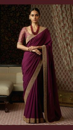Classic Indian Sari Click Visit link to see Sabyasachi Sarees, Georgette Sarees, Indian Sarees, Silk Sarees, Georgette Saree Party Wear, Indian Suits Punjabi, Silk Saree Blouse Designs, Tussar Silk Saree, Indian Dresses